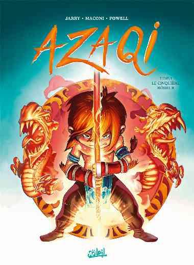 Azaqi 01 - Le Cinquième Rôdeur