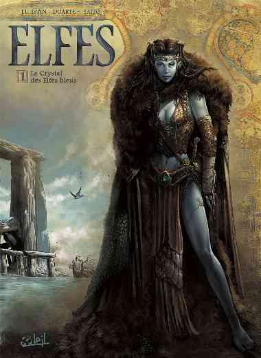 ELFES T01 LE CRYSTAL DES ELFES BLEUS