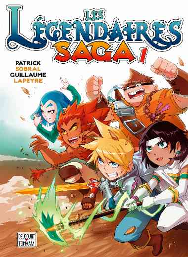 Légendaires - Saga T01