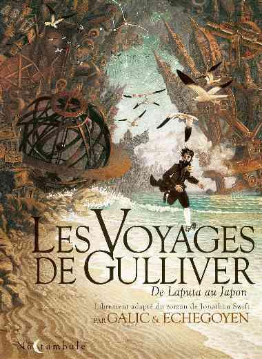 Les Voyages de Gulliver - De Laputa au Japon