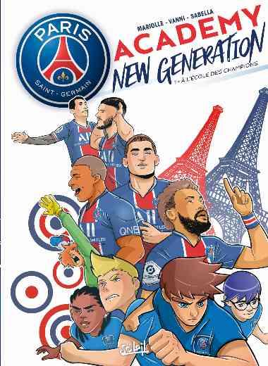 Paris Saint-Germain Academy New Generation T01