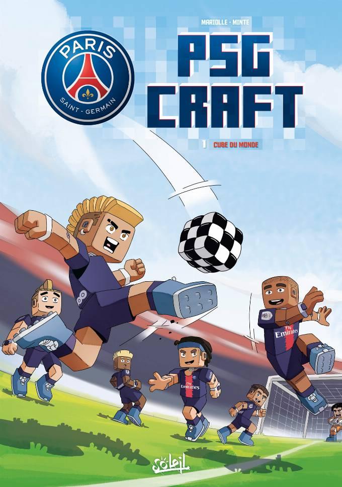 Paris Saint-Germain : PSG Craft 01 - Cube du Monde